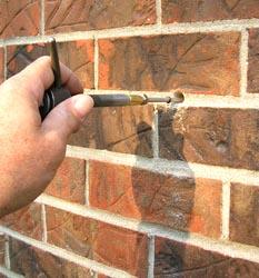 Masonry Repair Anchors Wall That Are Moving