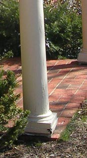 Replacing Damaged Porch Columns