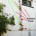 Painted Brick Repair