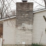 Chimney Repair – Damage From Freeze – Thaw