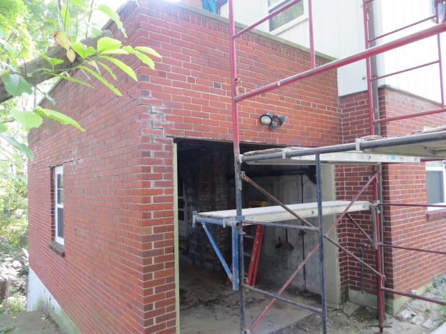 IMG_0003 & Garage lintel replacement